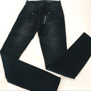 BLACK ORCHID Los Angeles high rise jeans w/zippers
